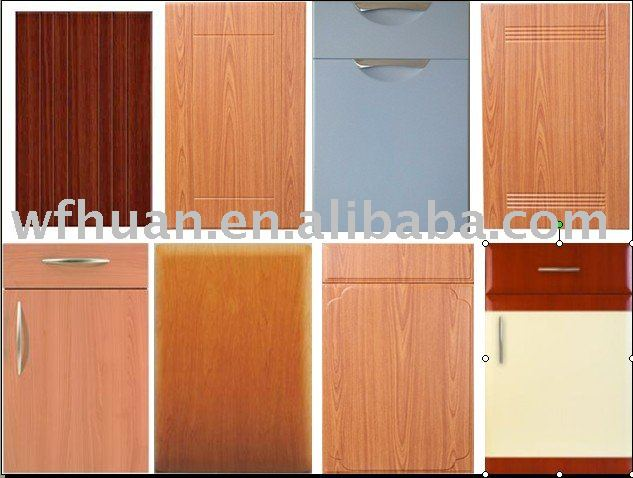 PVC thermofoil cabinet door