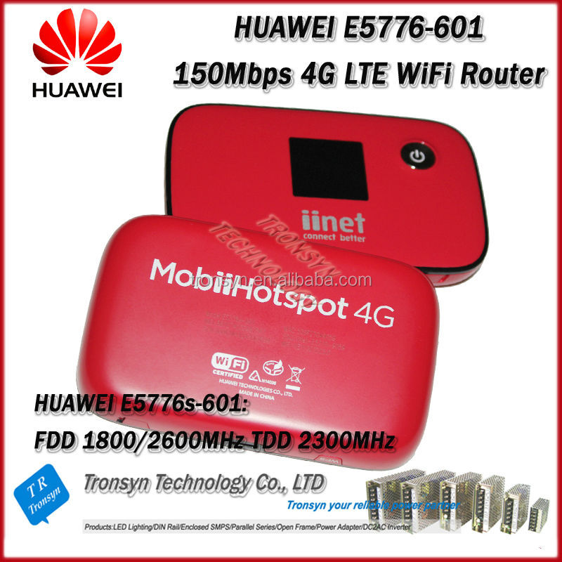 New Original Unlock LTE FDD 150Mbps E5776 4G LTE Router Support LTE FDD 1800/2600MHz And TDD 2300MHz