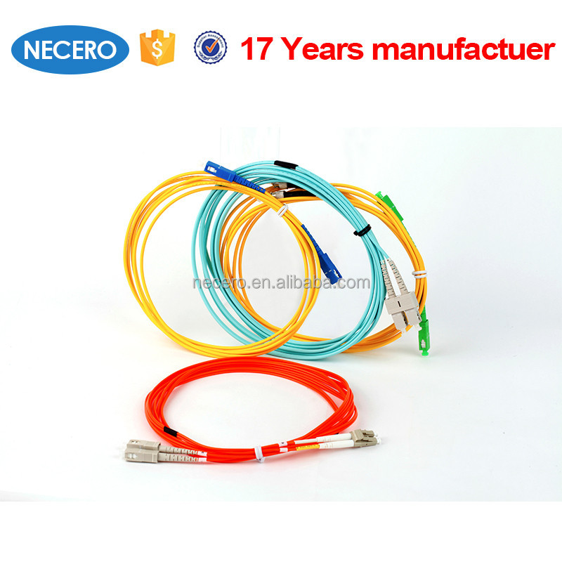 fiber optic cable, custom fiber optic cable assemblies, single mode and multimode jumper cord