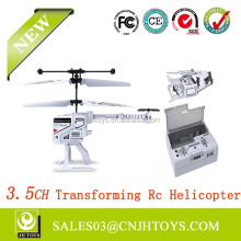 New Product 6010 Transforming With Gyro 3.5 Channel Rc Helicopter For Sale