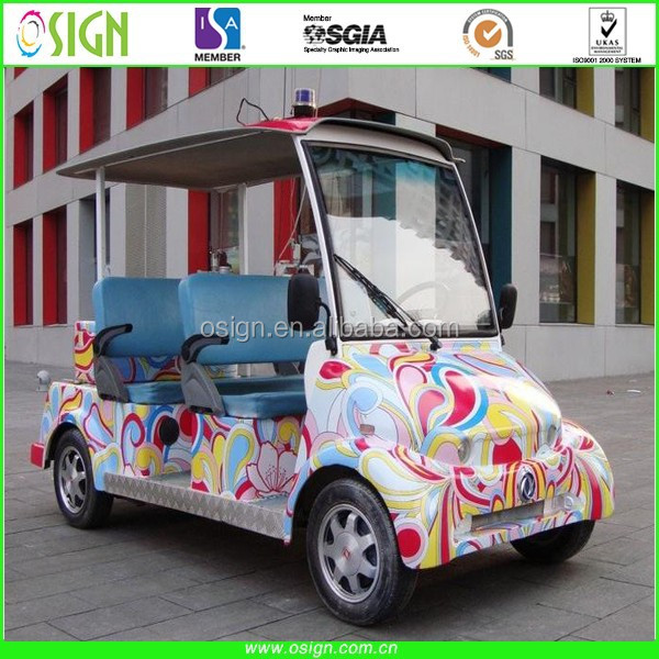 Chia top quality PVC material and body sticker use self adhesive vinyl