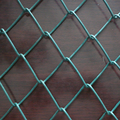 PE coated chain link temporary fence panels for baseball fields