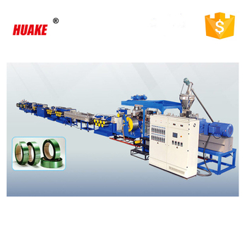 HUAKE brand PET Packing Strap Production Line plastic machine