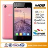 9 year OEM factory 4.5inch MTK 6582 Quad core best mobile phone plans