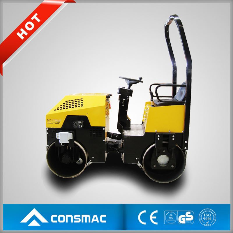 CONSMAC germany used bomag vibratory tamping roller