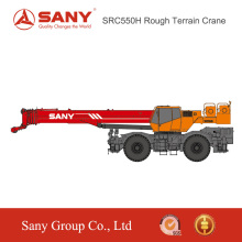 SANY SRC550H 55 Tons Boom U-Shape of Rough-terrain Truck Mounted Crane Mobile Crane For Sale in Malaysia