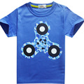 fashion cheap price cute printing slim fit size organic cotton kids t-shirts for promotion