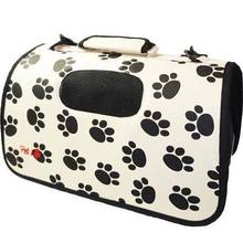 Pet Carrier For Dogs & Cats Tote Soft Sided Bag For Pets 3M Zippered Casual Collapsible Folding Travel Airline Approved
