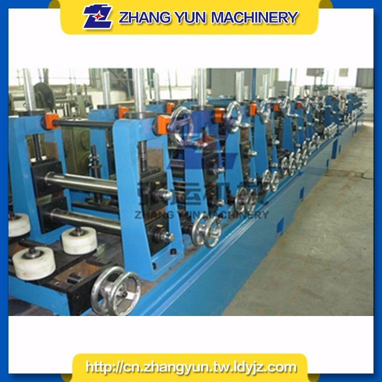 High speed big size automatic steel pipe high frequency tube welder