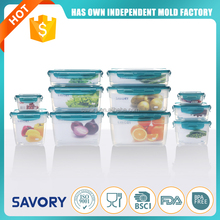 New Design Stackable Food Storage odorless airproof plastic food container
