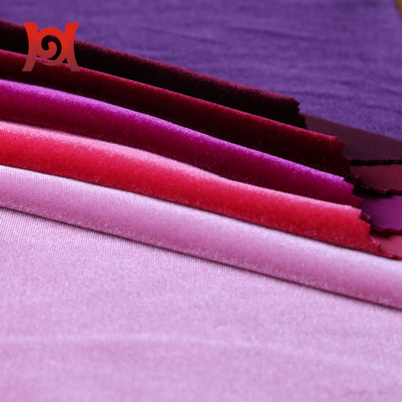 strech polyester spandex brushed fabric for sports