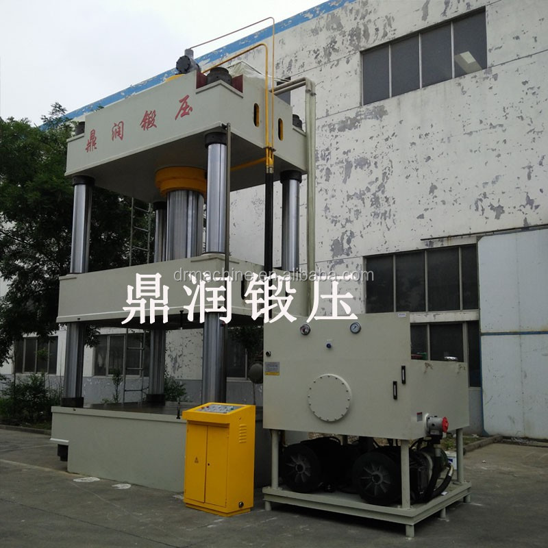 800t 1000t professional manufacturer four column stretching hydraulic press