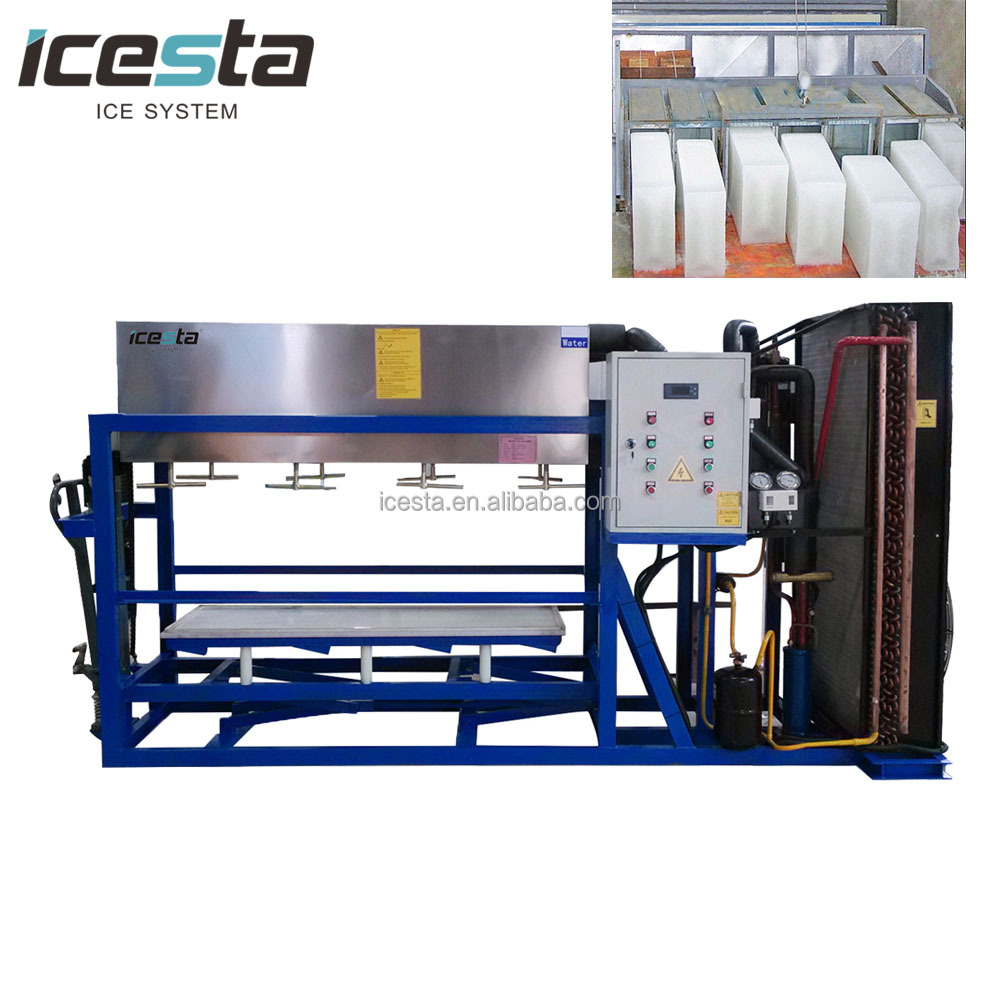 ICESTA 20T Energy saving and easy operation Block plant for ice factory (IB20T-R2W)