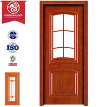 Pre-hung Door Single Wood Glass Doors, American White Oak Door Cottage 6 Light