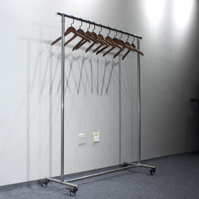 huohua china OEM wholesale stainless steel <strong>rack</strong> for shopping fittings