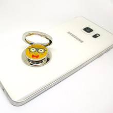 Free Sample Cartoon Laser Adhesive Mobile Ring Compatible with All Cell Phone Smartphone