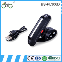 Bike accessories COB 200lumens V3 USB rechargeable LED bicycle flashlight