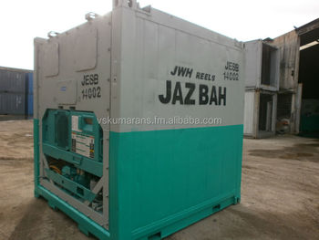 8 Modified Refrigerated Chiller Freezer Containers