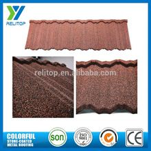 Gaoyao Al-Zinc Stone Chip Coated Asian Style Roof Tiles
