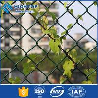 Green PVC Covered Chain Link Fence/Fencing