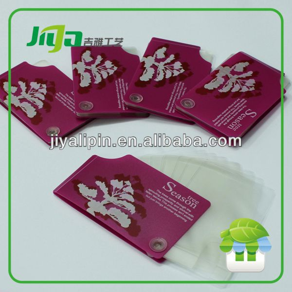 Lovely hotel key card holder printing for gifts in China