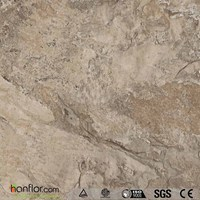 High end commercial grade marble pvc flooring
