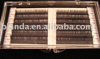 Extension MINK Lash C Curl .15mm 6 lengths 1 tray
