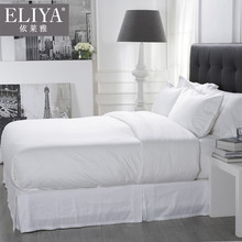 ELIYA Full Bed Guangzhou Polyester/Cotton Hotel Life Fitted Sheet Sets