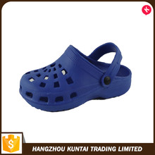 China manufacture professional wholesale eva kid garden shoes