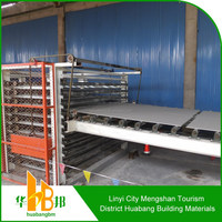 Gypsum Board Production Line with Hot oil and hot air dryer Method