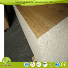 4*8ft melamine paper laminated particle board /chipboard for cabinet with low price