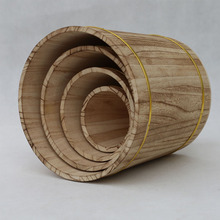 Low price handmade wooden coffee barrels