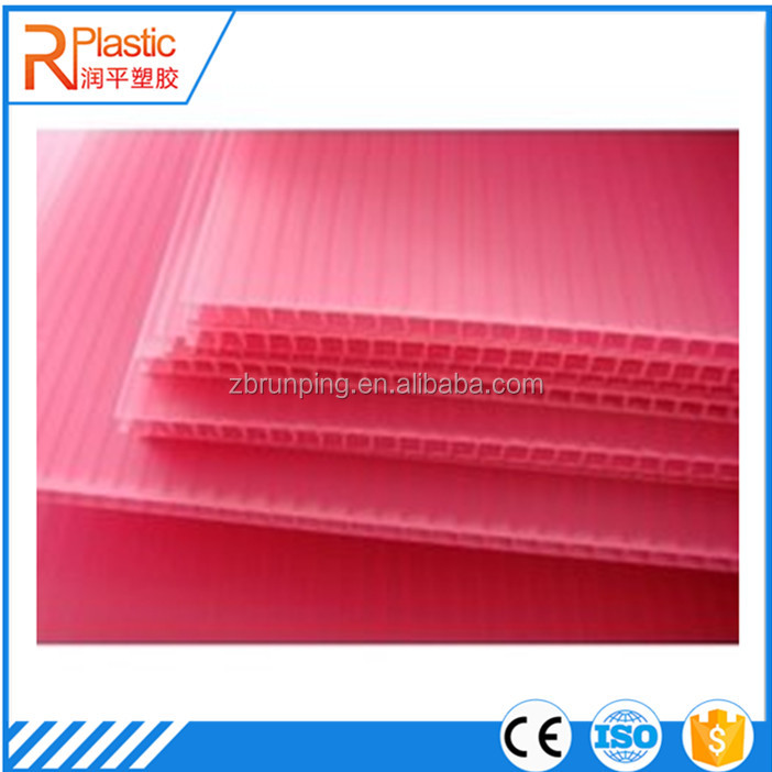 Outdoors Polypropylene PP Corrugated Plastic Poster Board