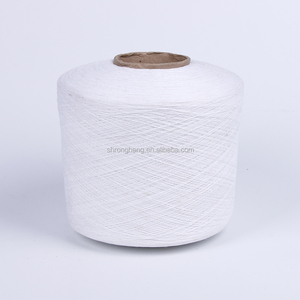 Blended cotton weaving yarn for knitting machine