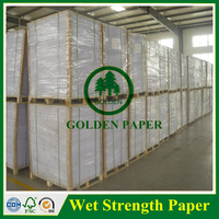 Factory Mill supply 80gsm 90gsm glossy C1S art paper label paper high wet strength paper
