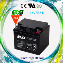 VRLA battery 12V 38ah Maintenance Free deep cycle Battery for Solar system