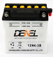 Best Quailty With Best Price Standard Dry ChargedBattery For Motorcycle 12V 12N4-3B