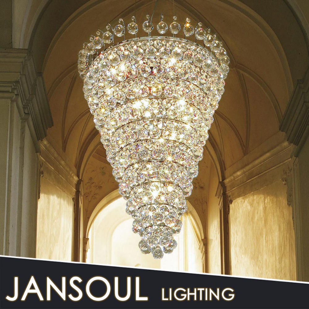 2015 decorative hanging crystal ceiling led decoration light for weddings