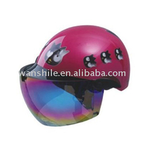 New design personalized safety ABS half face motorcycle helmet for sale