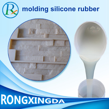 Two Component Liquid Silicone Rubber for concrete mold stone mold making