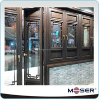 Natural plain solid wooden/hardwood doors