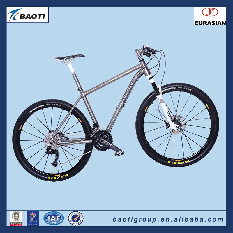 HASA Excellennt quality titanium one-second folding bike