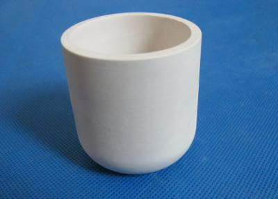 High Purity Alumina Ceramic Crucible For Melting Aluminum/Silver/Copper