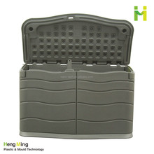 Outdoor plastic large storage container huge volume storage box