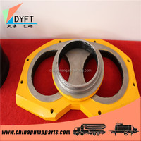 constriuction building truck parts tungsten hard alloy china supplier distributors concrete pump spectacle wear plate