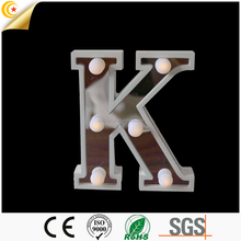 "Hot sale Free combination letter ""K"" shape decorative light"