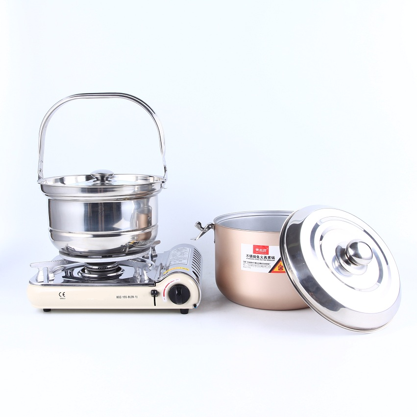2018 trending products 6L stainless steel energy saving thermo pot for picnic