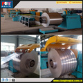 Hydraulic automatic metal steel coil slitting and rewinding machine