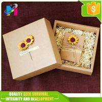 Luxury paper gift box drawer slide / Drawer gift packaging boxes / paper drawer boxes with handle