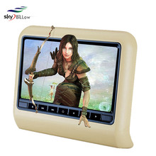 800*600 High resolutions 9 inch headrest dvd player for car